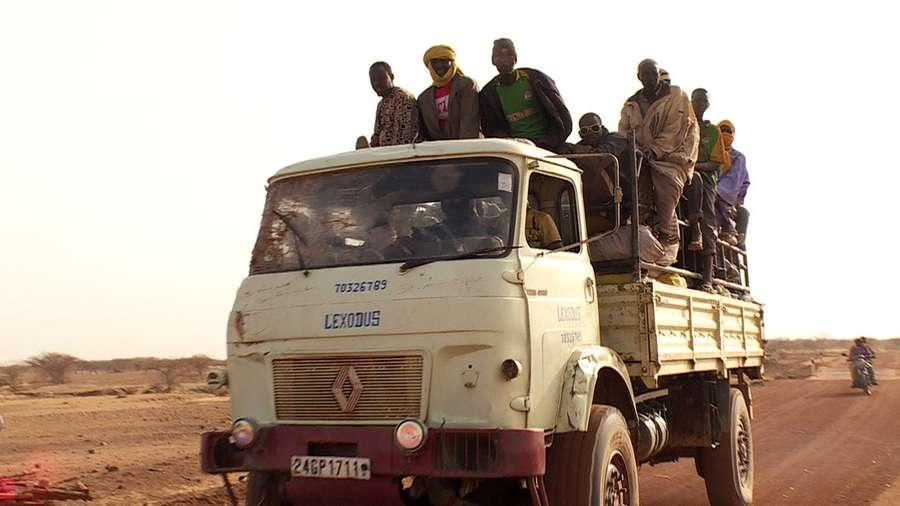 Auf heißen Reifen durch Afrika